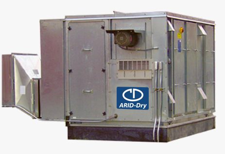 Desiccant Dehumidification for Water Treatment Facilities